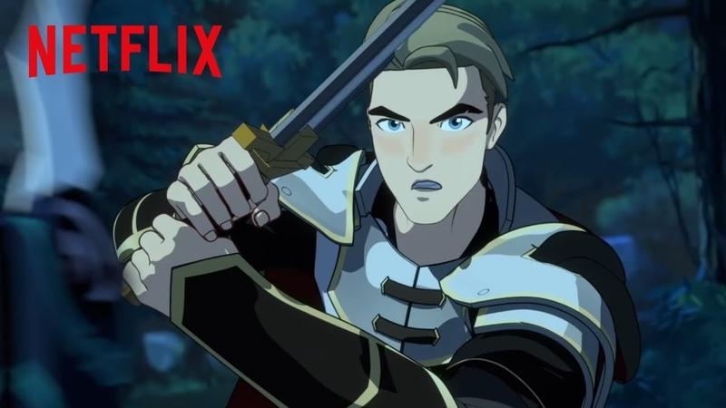 Rayla vs Soren | The Dragon Prince | Netflix