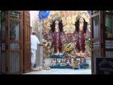 Экачакра. Утреннее ароти в храме Гаура- Нитйананды.