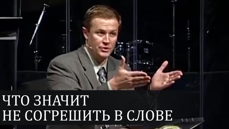 Что значит НЕ СОГРЕШИТЬ В СЛОВЕ и почему это очень важно - Александр Шевченко