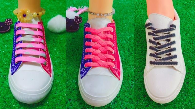 LACE SHOES | TOP 40 cool ideas how to tie shoe laces | 2018 part 1
