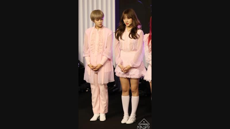 [VIDEO] 181020 U Idol Live Launching Concert