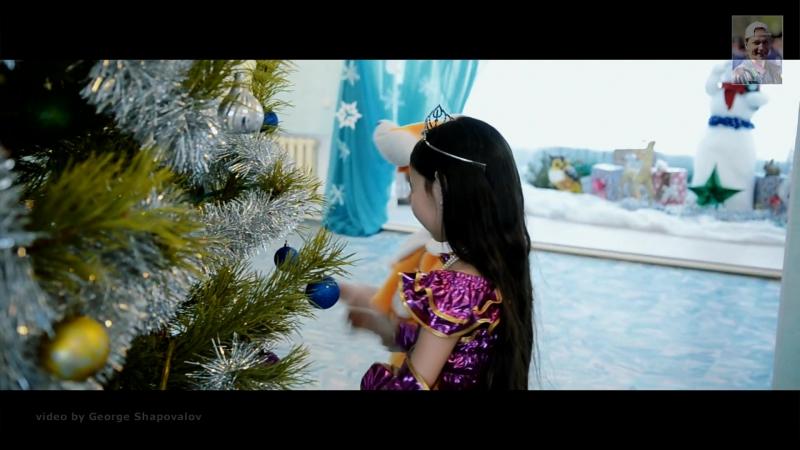 Новогодние чудо в деревне семейного типа Жануя поздравление от областного Дома Дружбы