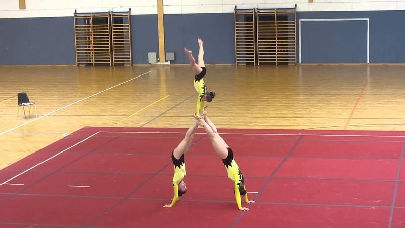 (13) Wien Cup Sportakrobatik 2015 - USA Krems - Junioren 2 W3 (Balance)