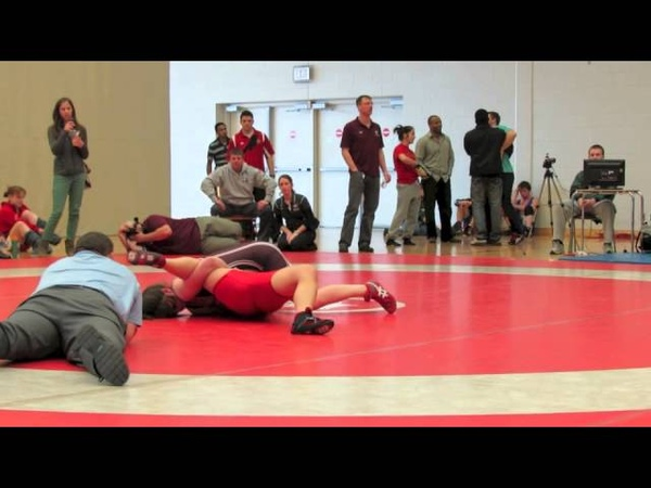 2013 OUA Championships 59 kg Lexi Pao vs Nicole Roach