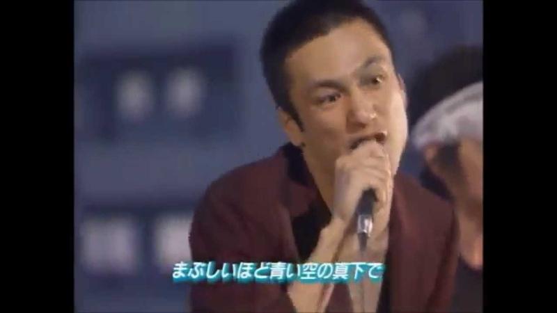NHKに問い合わせが続出したブルハ伝説のTV出演 其の壱 青空