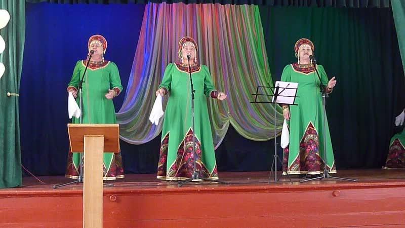 В белом поле вьюга песня (видео), трио - Мандрикова Людмила, Рудакова Надежда, Аксёнова Татьяна.