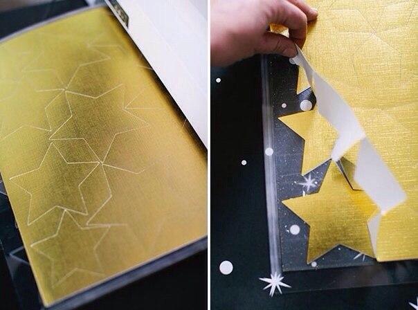 Как сделать гирлянду из фольги своими руками