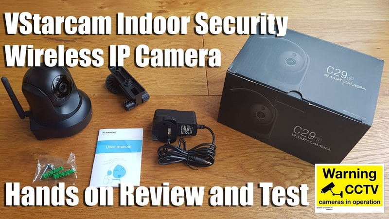 VStarcam Wireless IP Camera 1080P HD [Hands on Review and Test]