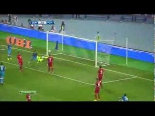 Зенит - Норшелланн 5-0 обзор матч - Zenit Petersburg vs Nordsjaelland 5-0 Full HighLights 07.08.2013