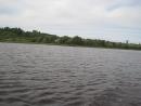 катаемся на лодке на нашей речке Унже)