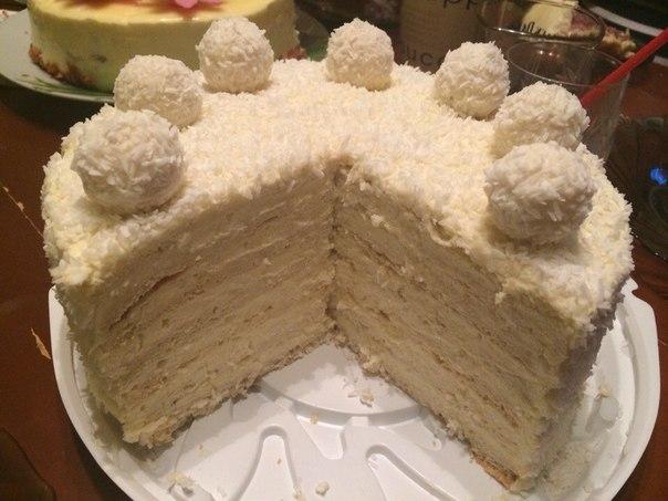 Легкий и вкусный торт