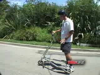 How to Ride a Trikke (10) : Hill-climbing