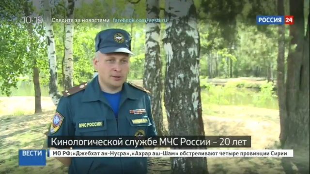 Новости на Россия 24 • Четвероногие спасатели отметили 20-летний юбилей