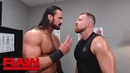 The Kingslayer Is Seth Rollins trying to recruit Drew McIntyre into The Shield Raw Sept 24 2018