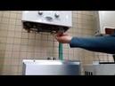 Как заменить батарейки на газовой колонке Replacement of batteries on the gas water heater