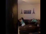 LITTLE SISTER HITS BROTHER AND INSTANTLY REGRETS IT!!