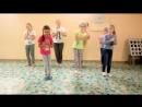 танец девочек на 23 февраля