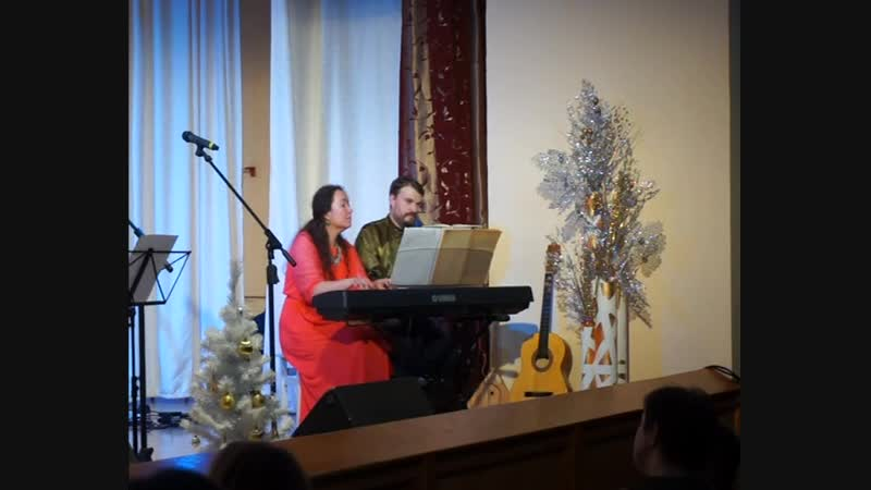 Евгений Печкин и Екатерина Щербакова Джаз Парнас 1