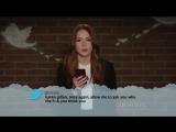 Karen Gillan on celebrities read mean tweets