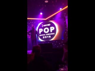 23 апреля 2018: Лана на «ASCAP Pop Music Awards»
