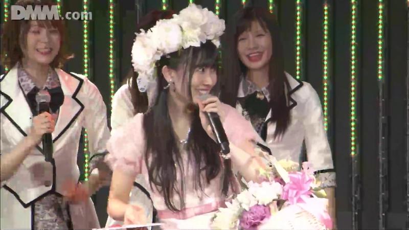 180410 NMB48 Stage BII4 Renai Kinshi Jourei Yagura Fuuko Sotsugyou Kouen. Часть 2.