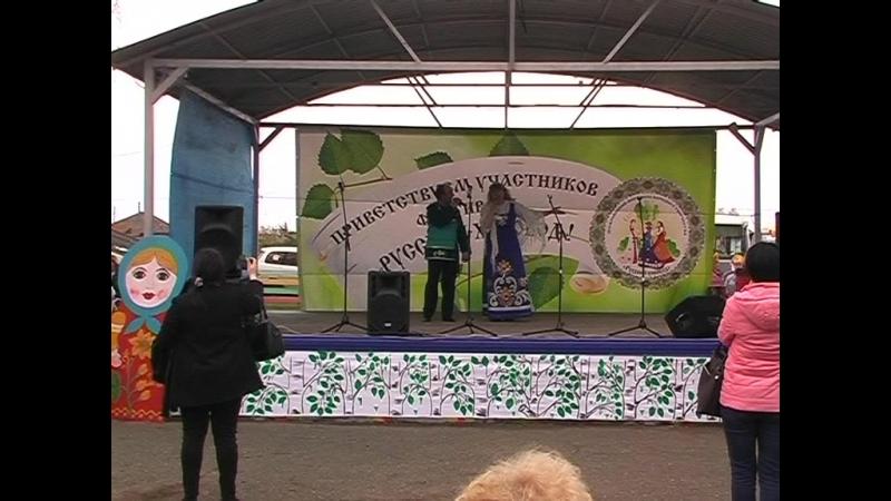 Межрайонный фестиваль Русский хоровод п.Чулым 2018г. 1часть