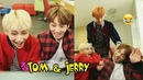 TAEHYUNG and JUNGKOOK 태형 정국 BTS TOM JERRY Ver