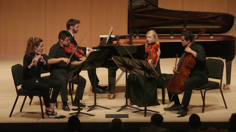 988 (4/4) J. S. Bach - Goldberg-Variationen, BWV 988 IV. Variations 25-30 - A. Zhang-E. Ferguson-D. Na-J. Glenn-M. Dahlberg