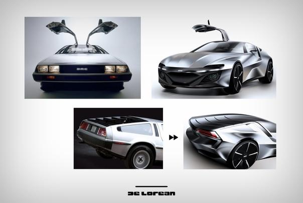 Как бы выглядел DeLorean в 2019 году