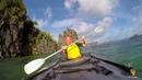 На каяке по Филиппинам Kayaking in El Nido