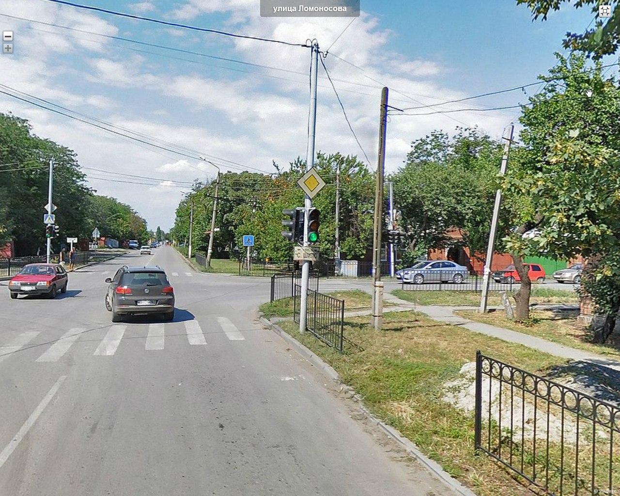 В Таганроге на улице Ломоносова сбили женщину