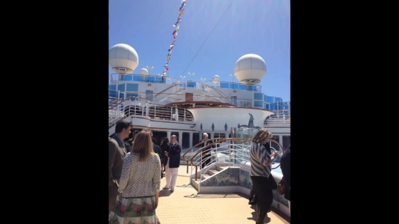 Onboard the magnificent Sapphire Princess