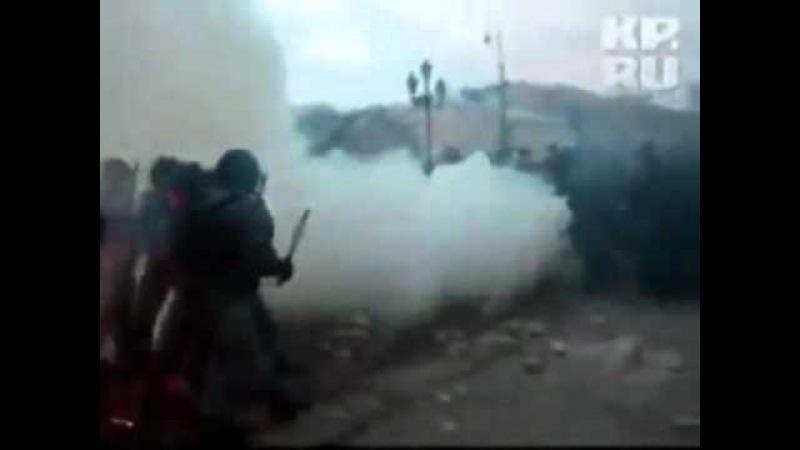 Массовые беспорядки 11.12.2010 (Музыкальный клип)