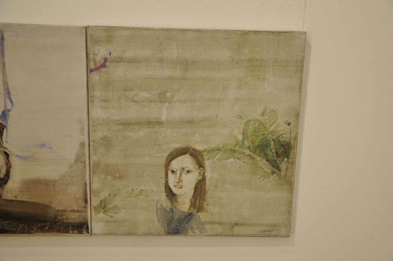Союз Художников Латвии  Неонилла Медведева (р. 1987)  2 из 10 (Автопортрет). 2009  Холст, масло
