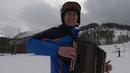 Гармонист на лыжах - полная версия!