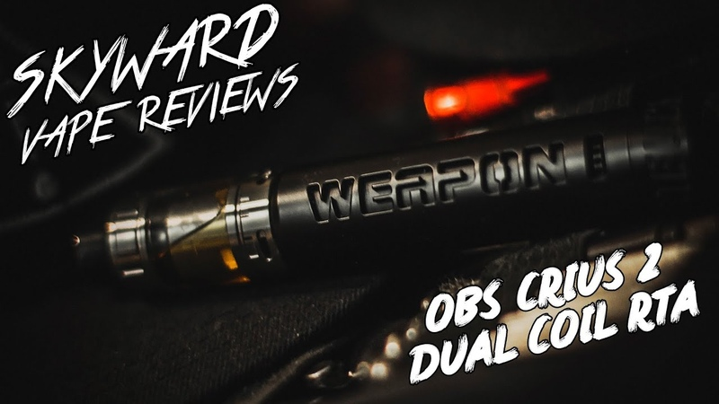 ОБЗОР CRIUS 2 DUAL COIL RTA BY OBS | РОЗЫГРЫШ ОТ HEAVENGIFTS!