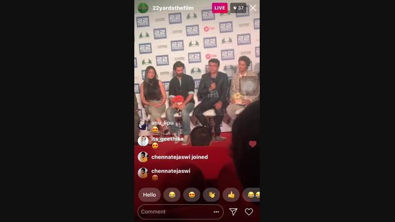 Barun Sobti _ 22yards _ trailer launch _ live video part-2_