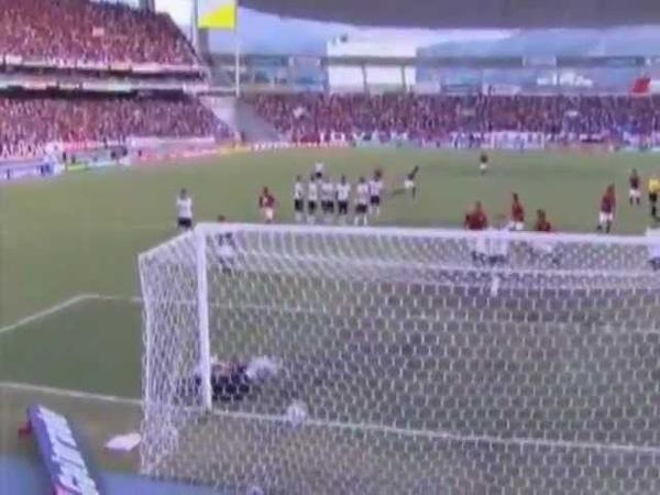 Flamengo 1 x 1 Corinthians - Gol Renato Abreu Brasileirão 2011