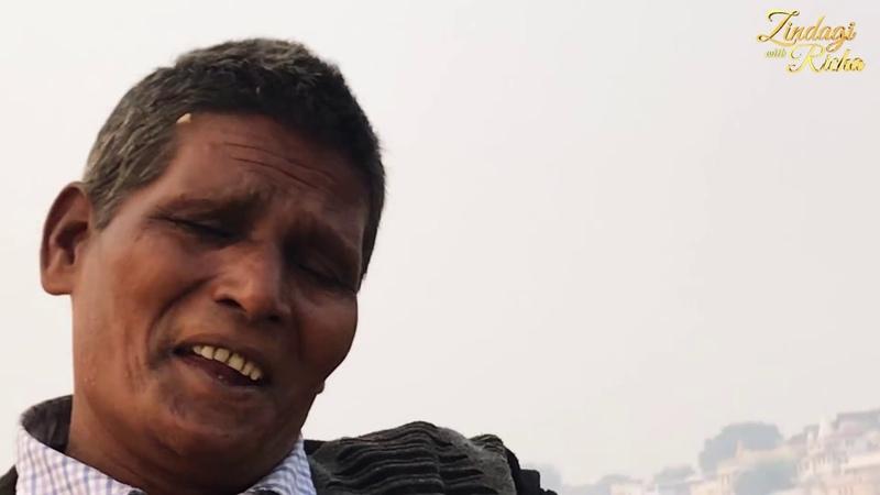 Varanasi Boatman who sings-- Bhaumi Nishad-Zindagi With Richa