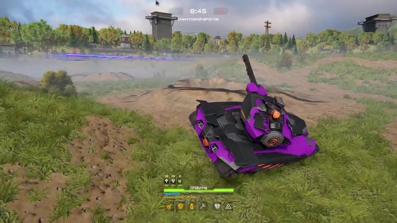 Tanki X: Мой любимый комплект: Хорнет XT, Смоки XT, Рельса XT.