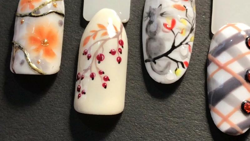 KeSia nail Малая часть моих рисовашек