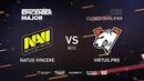 Natus Vincere vs Virtus.pro, EPICENTER Major 2019 CIS Closed Quals , bo3, game 1 [Adekvat Smile]
