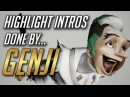 All Highlight Intros and Dances performed by Genji