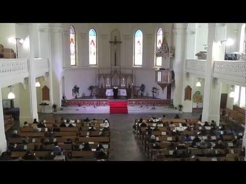Пасхальное богослужение в Евангелическо Лютеранском Кафедральном Соборе свв Петра и Павла в Москве