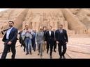 Emmanuel Macron en Égypte, partenaire stratégique au Moyen-Orient