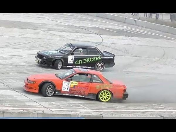 21.10.2018 Дрифт парные заезды Nissan Silvia s13 vs BMW 318i | Drift Crimea Cup