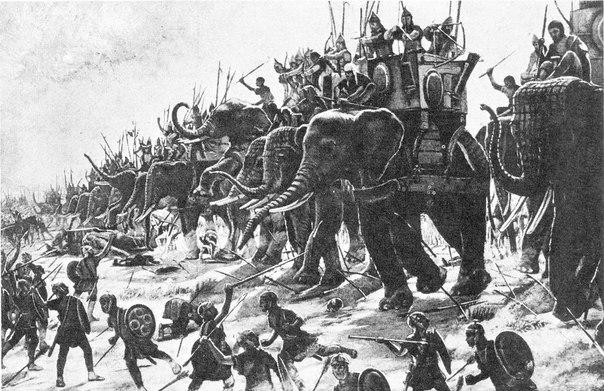 Самые необычные военные тактики в истории