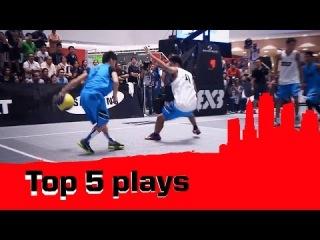Top 5 Plays - 2014 FIBA 3x3 World Tour - Manila Masters