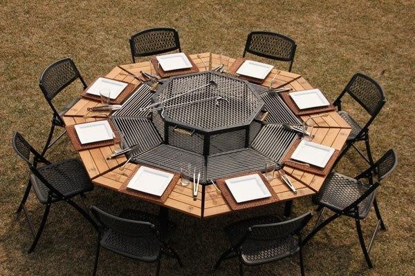 Стол для мангала фото