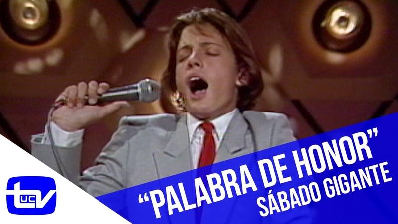 Luis Miguel - Palabra de honor | Sábado Gigante